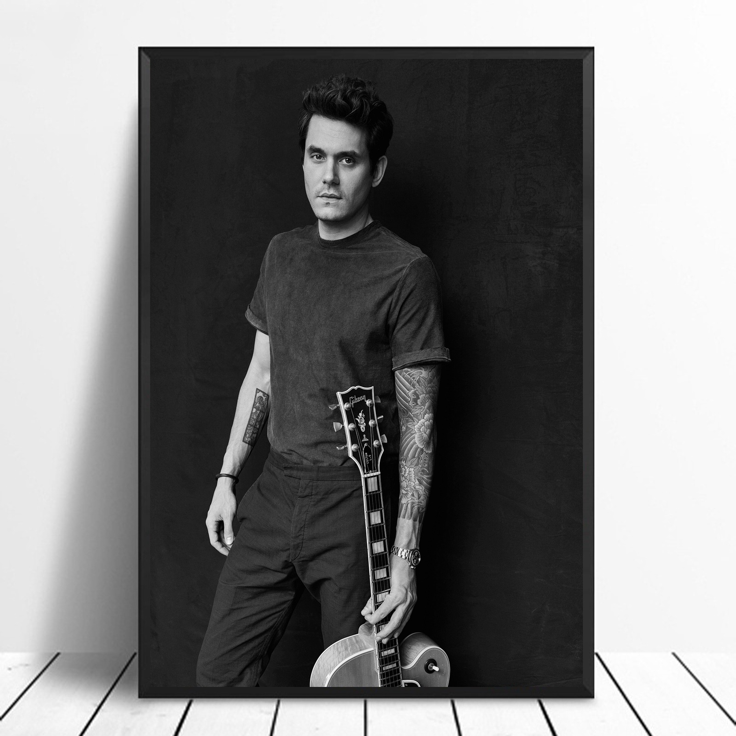 John Mayer Cool Painting: John Mayer Music Poster Canvas Painting Print Wall Art