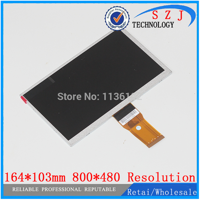 New 7 Inch LCD Screen Panel 7300101466 E231732 For Tablet PC 800480 Display Resolution Size 164103mm Free Shipping