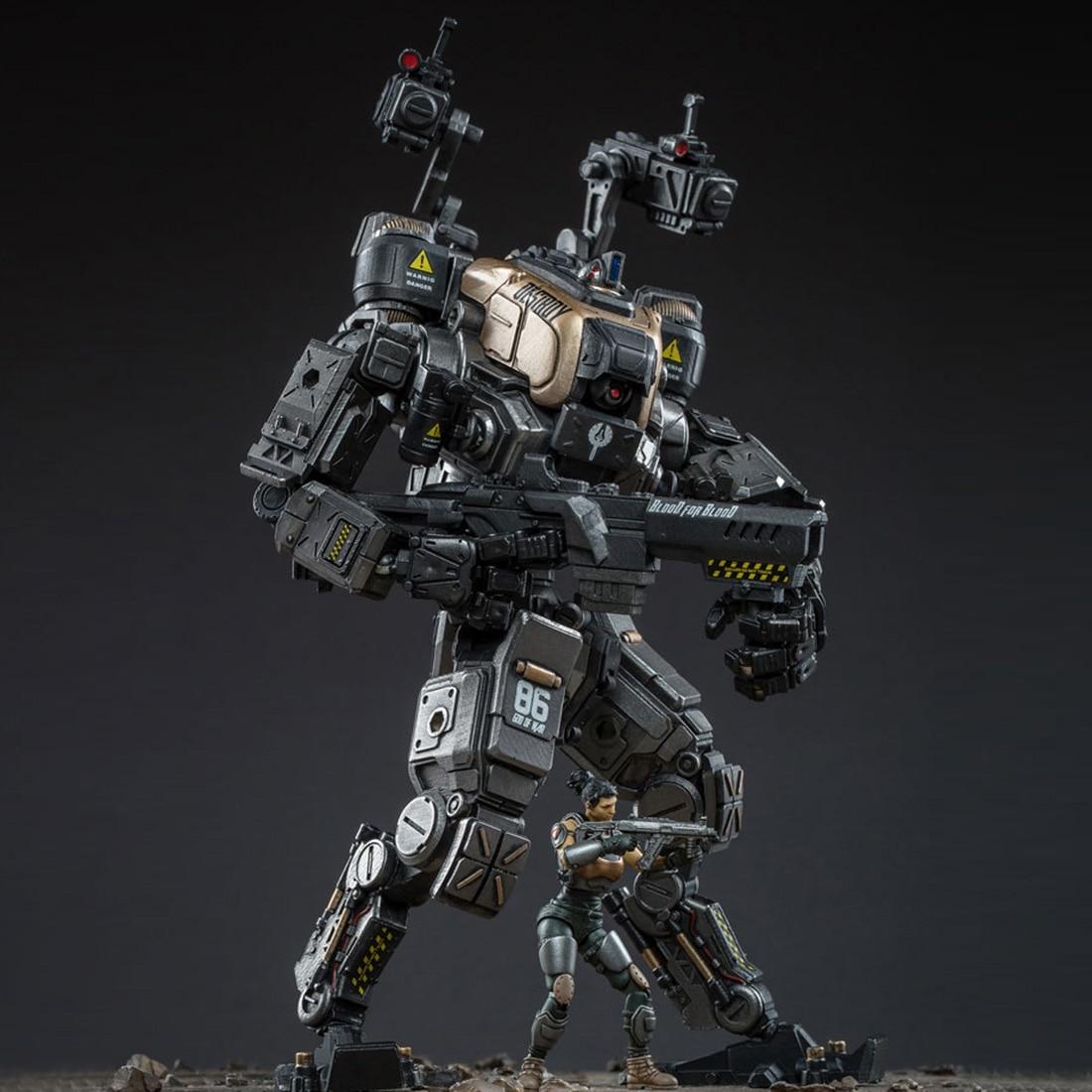 DIY Abnehmbare Mecha Modell Soldat Modell Bau Spielzeug Mit Hoher Grad Von Reduktion (Mecha Höhe: 22 cm; soldat Höhe: 7,5 cm)-in Action & Spielfiguren aus Spielzeug und Hobbys bei  Gruppe 3