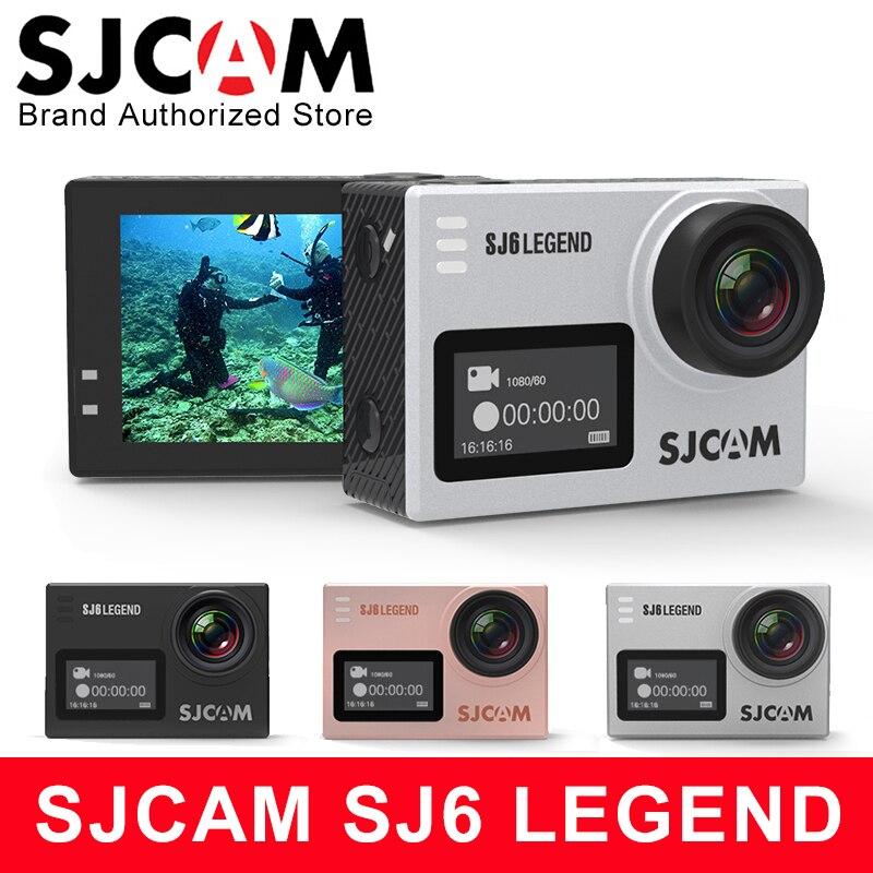 Action Camera SJCAM SJ6 Legend 4K Sports DV Notavek 96660 2 0 Touch Screen Remote Ultra