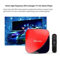 Android 9.0 Set Top Box Android TV Prefix Digital Set top Box HDMI 2.0 4GB+64GB TV Box With Remote Control And HDMI Cable