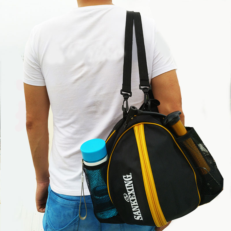 09396f38d54 Portable Basketball Backpack Water Bottle Ball Pack Soccer Sports Bags Kids  Football Kits Waterproof Volleyball Basketball Bag-in Basketballs from  Sports ...