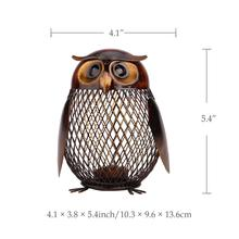 Owl Shaped Sculpture for Home Decor