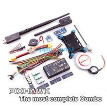 Pixhawk PX4 32 bits ARM Contrôleur de Vol et NEO-6M/6 H/M8N GPS/4G TF Carte et SBUS/PPM Module & I2C/433 Mhz DTM pour RC Multicopter