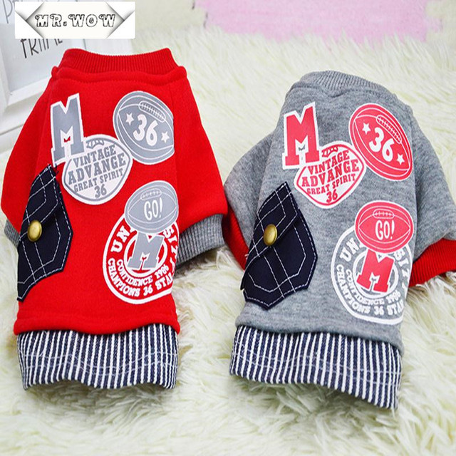 Free Shipping Dog Clothes Pets Coats Soft Cotton Puppy Dog Clothes Adidog Clothes For Dog New 2015 Autumn Pet Products