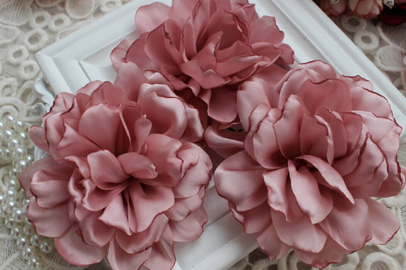 Pink Chiffon Flower Rose Soft Chiffon Fabric Flowers Bridal Wedding     Pink Chiffon Flower Rose Soft Chiffon Fabric Flowers Bridal Wedding Garter  Baby Hair in Lace from Home   Garden on Aliexpress com   Alibaba Group