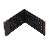 Flexible Wireless Keyboard Folding Bluetooth Keyboard 66 Keys Multimedia Wireless Keyboard For IPhone IPad Android Tablet