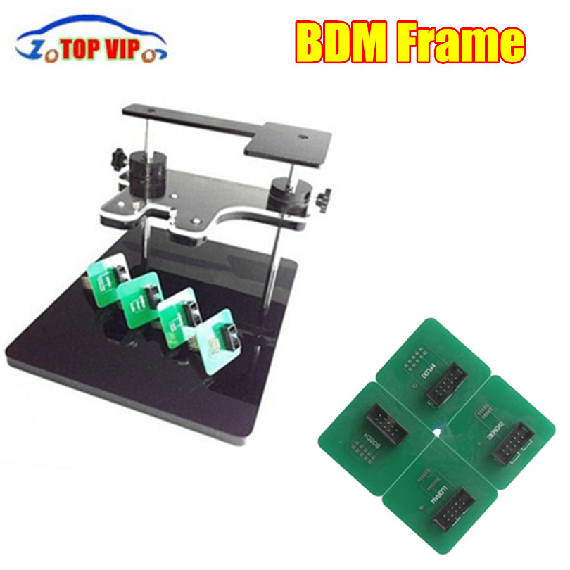 BDM Frame With Aapters Works BDM Programmer CMD 100 Full Sets Fits For FGTECH bdm100 kess Auto Car Scanner Car diagnostic tool