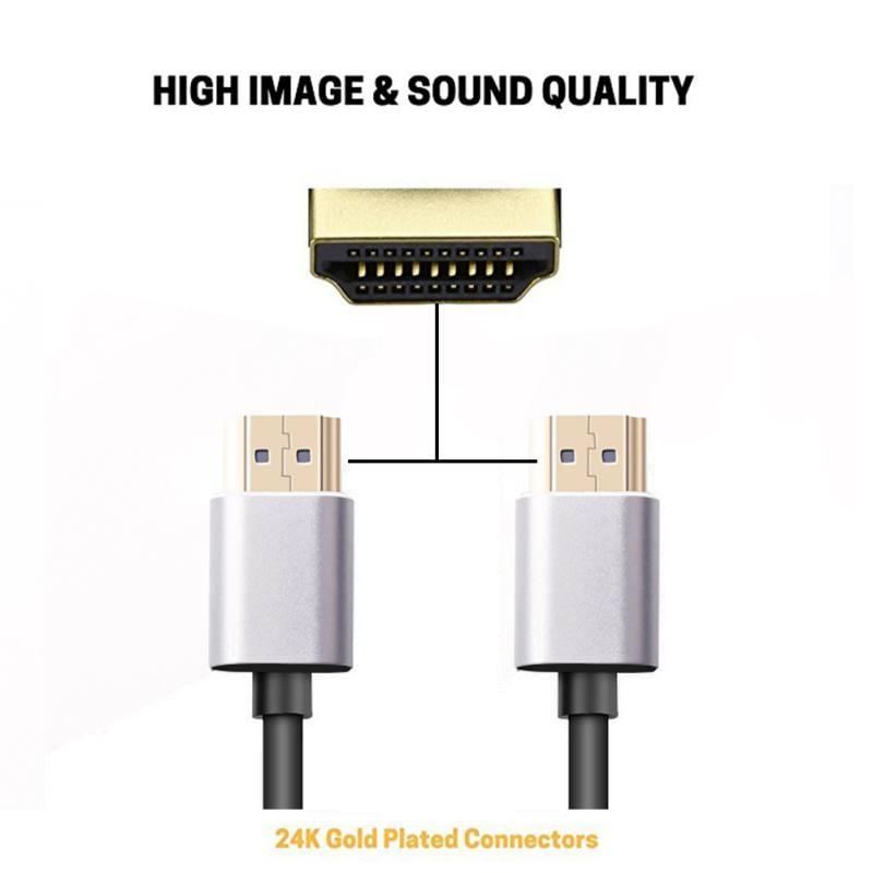 1/2/3/5 M Kabel Hdmi Naar Hdmi Kabel Hdmi 2.0 4 K 3d 60fps Kabel Voor Hd Tv Lcd Laptop Ps3 Projector Computer Kabels Hot
