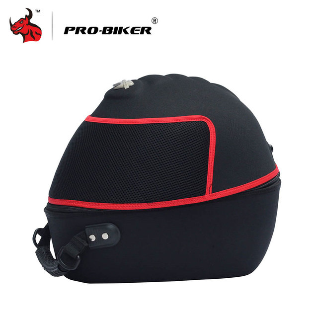 PRO-BIKER Motorcycle Bag Moto Helmet Bag  Motorbike Travel Multifunction Tool Tail Bag Handbag Luggage Carrier Case