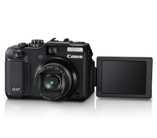 HTB1z6BCKcfpK1RjSZFOq6y6nFXaF Used,Canon G12 10 MP Digital Camera with 5x Optical Image Stabilized Zoom and 2.8 Inch Vari-Angle LCD