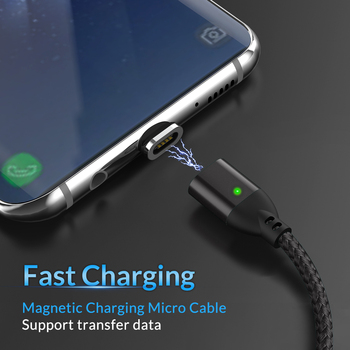 TOPK [5-Pack] 1M 3A Быстрый зарядный Магнитный Micro USB кабель для Samsung S6 S4 Note 6 5 для Xiaomi 4X Note 4 для Huawei P8 Lite