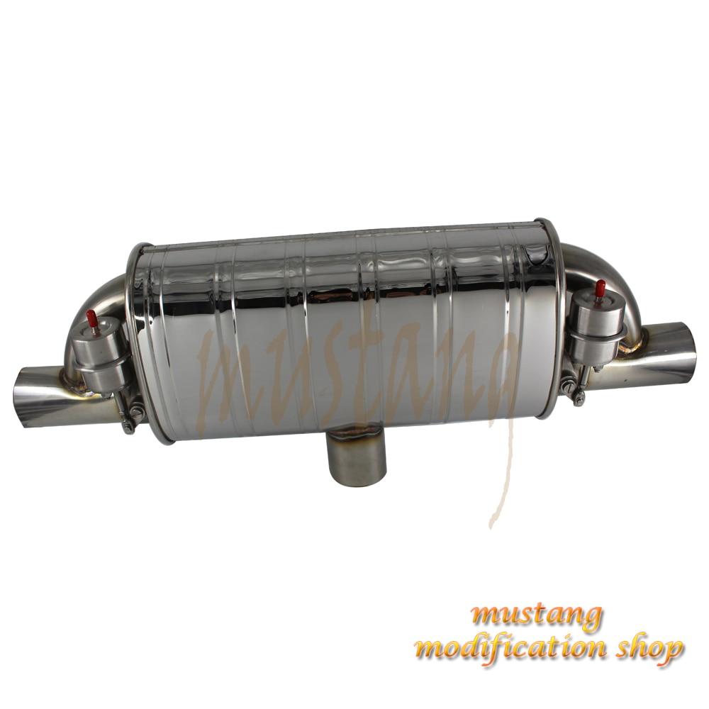 Универсальный различные размеры автомобиля настройки глушитель клапан контроллер выхлопная труба аксессуары Нержавеющаясталь тиснение