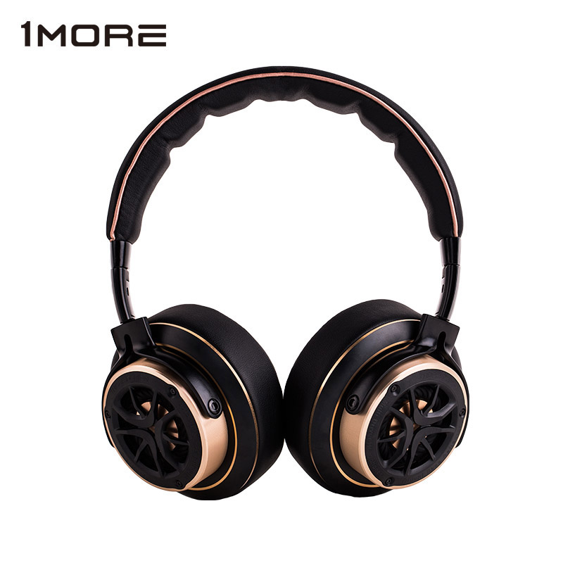 1 MORE Triple Driver Over-ear Wired Headphone Hifi DJ Noise Isolating on-ear Headphones big Headset for phone, Foldable Design echo cs 361wes 14