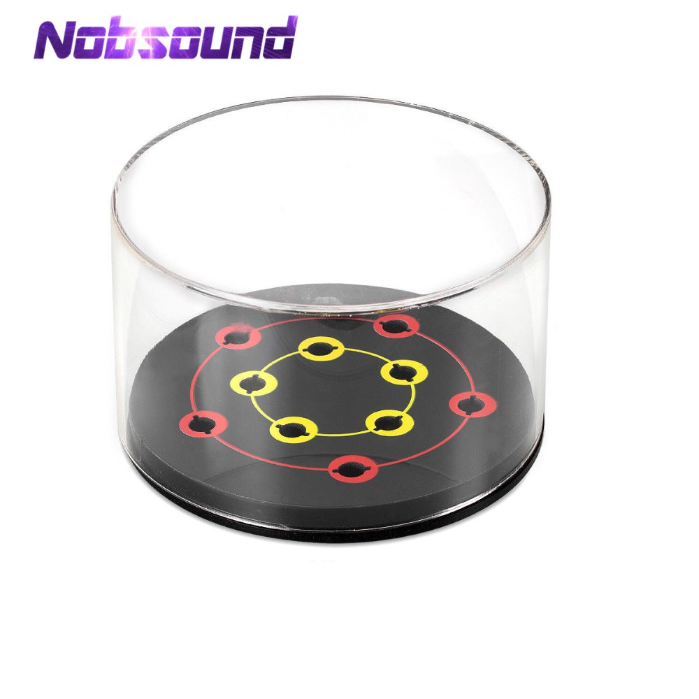 Nobsound HiFi Headshell Shell Cartridge Keeper Case Box Holder Acrylic Box Stylus Protector Phonograph Player Accessories