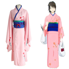 Anime Gintama Shimura Tae Cosplay Costume Japanese Kimono Uniform Outfit Adult Costumes Carnaval/Halloween for Women
