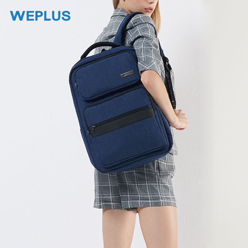 WEPLUS 15 6 Inch Laptop Backpack Men Backpacks For Teenager Men Casual Daypacks Multifunction Anti Thief