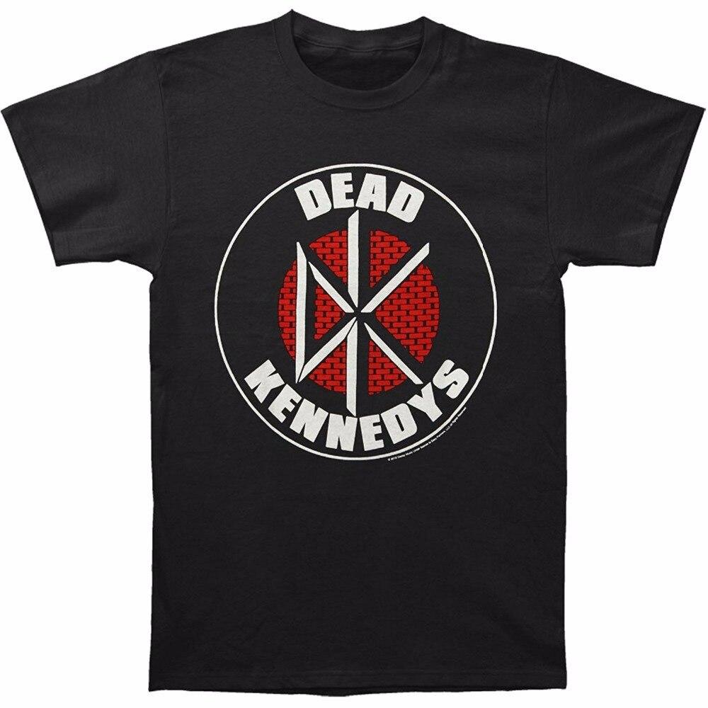 Make Your Own Shirt Fashion ImpactMerchandising Mens Dead Kennedys Brick Logo Soft T-Shirt Men Short O-Neck T Shirts