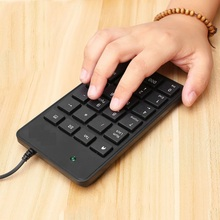 10pcs Mini 23-Keys USB Number Pad Keypad Numeric Keyboard For Laptop Notebook