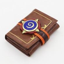 MSMOนูนหนังH EarthstoneวีรบุรุษของW Arcraftกระเป๋าสตางค์บัตรแพคเกจของขวัญใหม่