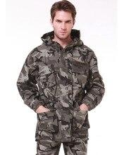 Herren Winter Military Baumwolle Verdicken UNION ARMEE Marke Jacken Männer Gepolsterte Plus samt Warme Kapuzenjacke Trenchcoat männer