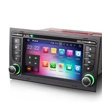 Android 7.1 Autoradio DAB+ GPS CD Bluetooth Navi Car Radio For AUDI A4 SEAT EXEO RS4 B9 B7 Radio Sat Navi 3G DVR DTV IN OBD