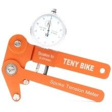 цены Spoke Tension Tester Digital Scale 0.01Mm Bike Indicator Meter Tensiometer Bicycle Spoke Tension Wheel Builders Tool