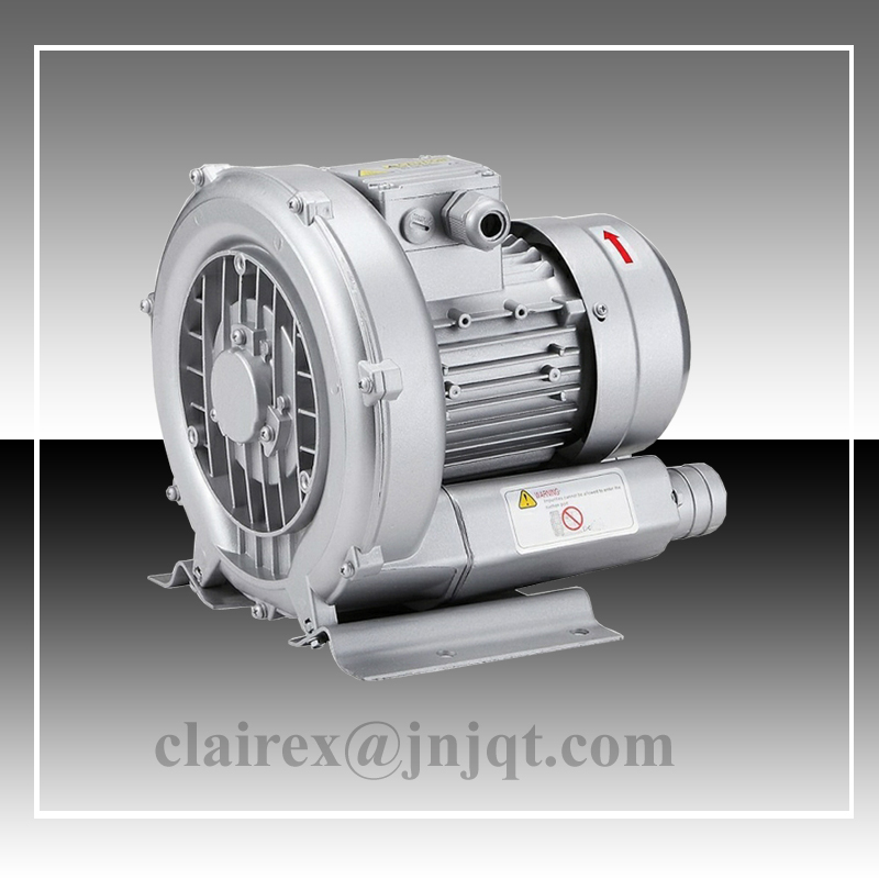 JQT-370-C Side Channel  370W AC220V Cleaning Air Blower for Drying jqt 2200 c side channel blower 2 2kw vacuum pump for cnc ring blower aerator for ponds fish oxygen pump