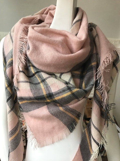 Za Winter Scarf Women Plaid Cashmere Scarf Brand Wrap Luxury Blanket Women Scarf Warm Shawls and Scarves Long Shawl lowest price