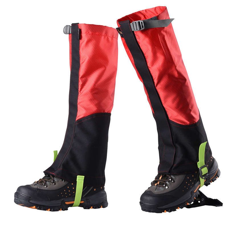 Waterproof Men Women Shoes Cover Skiing Boots Gaiters Outdoor Sport Hiking Climbing Snow Leggings Gaiters