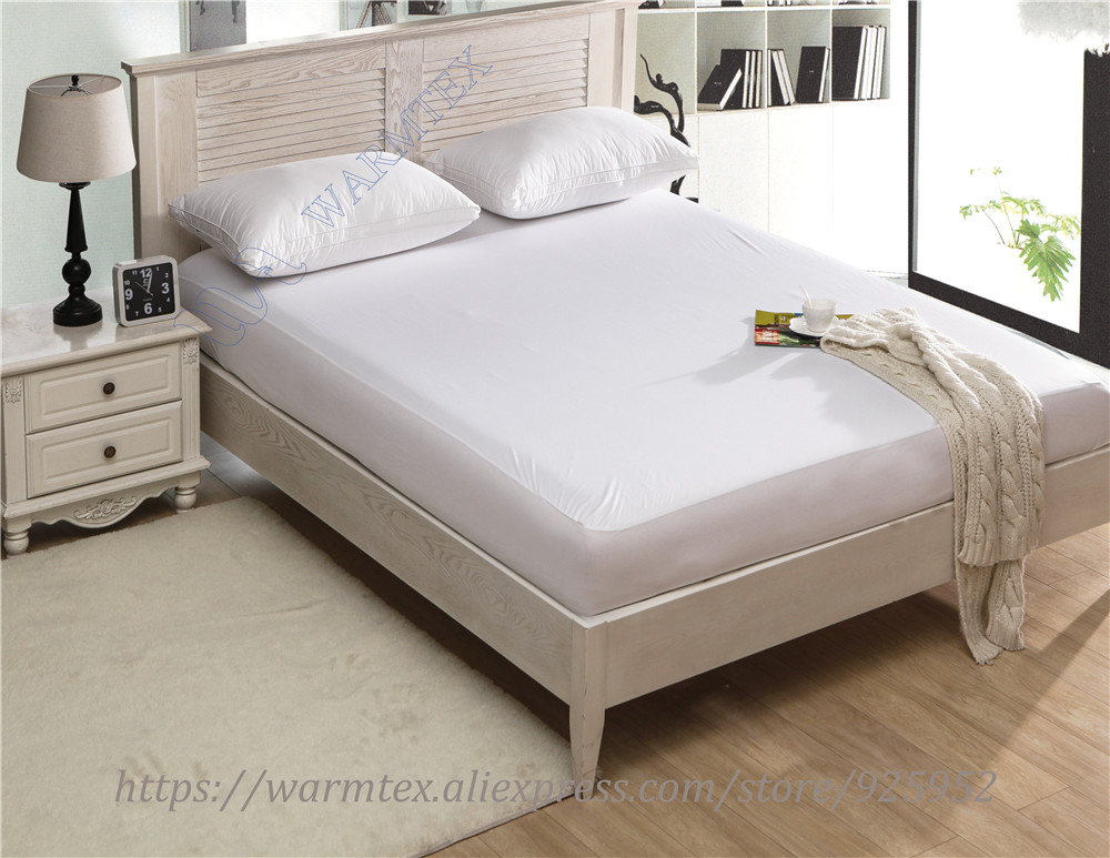 waterproof Smooth Knit mattress protector Mattress Cover 100% Waterproof of TPU W002 A