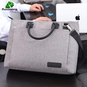 Oyixinger عالية الجودة و البساطة حقائب عمل الرجال حقيبة حقيبة لابتوب ملف حزمة النايلون النساء مكتب يد العمل أكياس