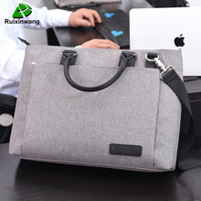 Oyixinger High Quality And Simplicity Business Bags Men Briefcase Laptop Bag File Package Nylon Women Office Handbag Work Bags