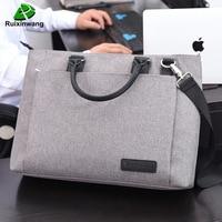 Ruixinwang Business Bags Handbag Men Briefcase Laptop Maleta Casual Nylon Women Handbag Work Bags