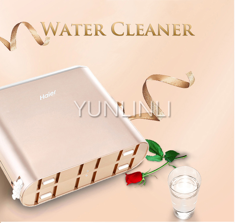 Household Water Purifing  RO Film Water Filter Intelligent Water Purification Equipment  Tap Water Filtration Device  HRO7520-4