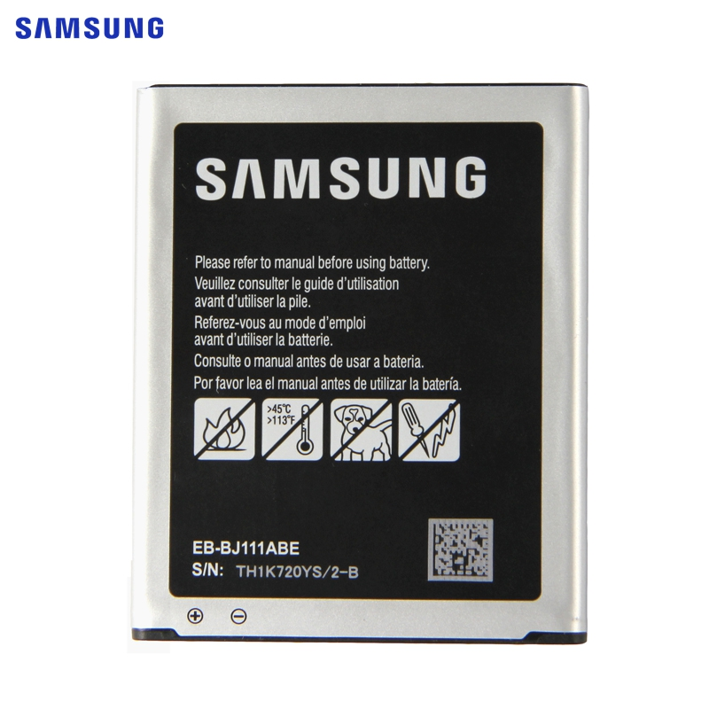 <font><b>SAMSUNG</b></font> Original Replacement <font><b>Battery</b></font> EB-BJ111ABE For <font><b>Samsung</b></font> Galaxy <font><b>J1</b></font> J <font><b>Ace</b></font> J110 SM-J110F J110H J110F J110FM 4G Version 1800mAh image