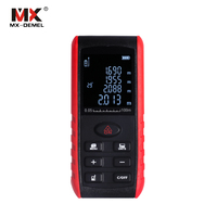 MX-DEMEL 40/60/ 80/100M High Precision Laser Rangefinder Handheld Laser Distance Meter Range Finder Area Volume Measure Tools