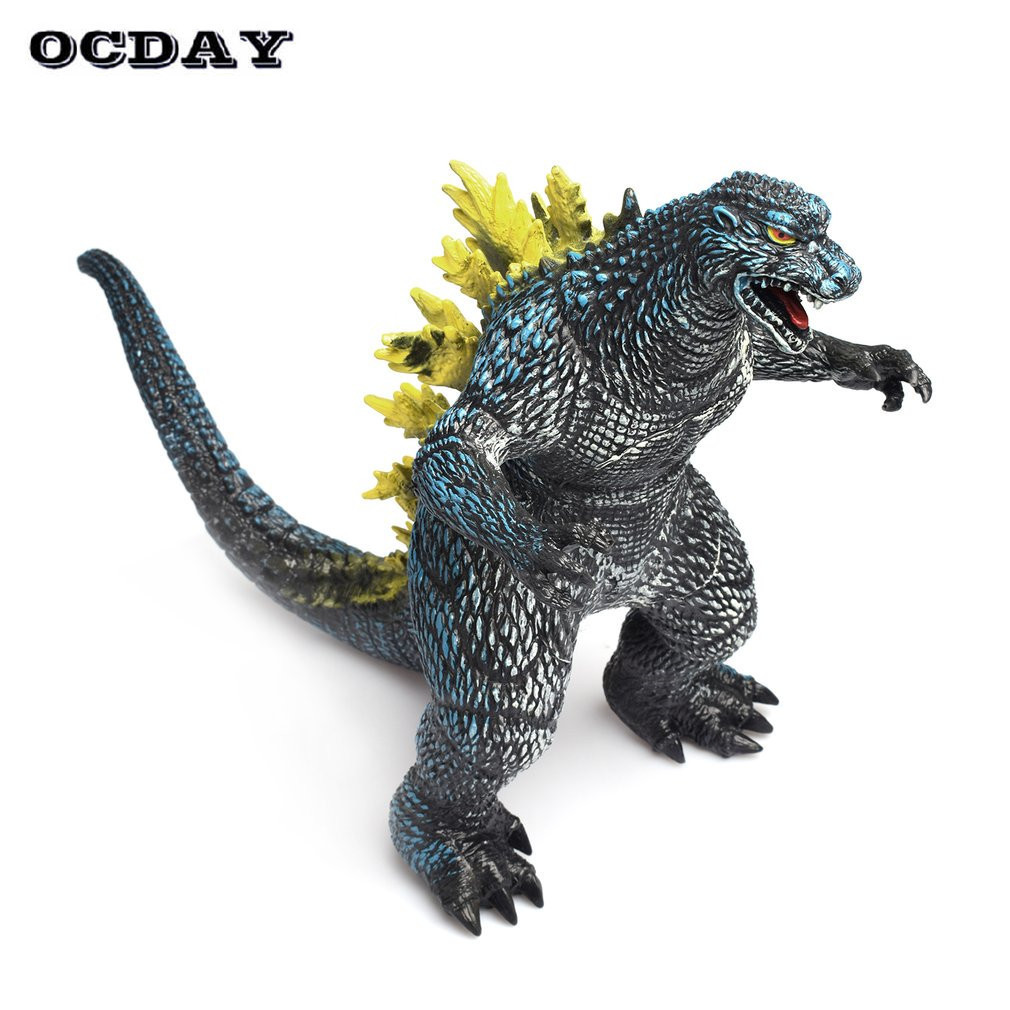 OCDAY New Jurassic World Dinosaur PVC Display Collection Educational Toys Tyrannosaurus Rex Dinosaur Model Toy Kids Baby Gifts 37 cm tyrannosaurus rex with platform dinosaur mouth can open and close classic toys for boys animal model without retail box