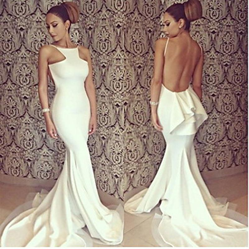 Online Get Cheap Simple White Prom Dress -Aliexpress.com | Alibaba ...