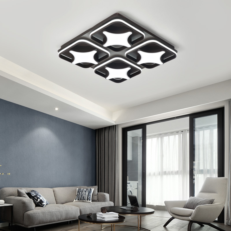 New Design Modern ceiling lights Creative Aluminum LED living room fixtures bedroom ceiling lamp Novelty lamparas de techo modern led ceiling lights for living room bedroom foyer luminaria plafond lamp lamparas de techo ceiling lighting fixtures light