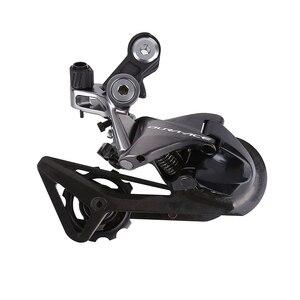 Image 5 - SHIMANO DURA ACE R9100 R9120 R9170 Groupset vites yol bisikleti ST + FD + RD ön arka attırıcı çift kontrol kolu vites