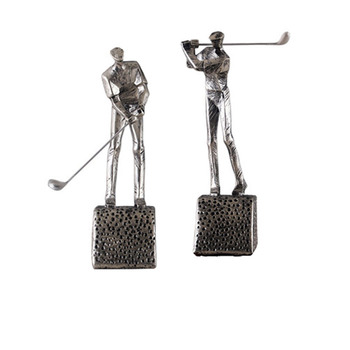 Simple Modern Golf Character Statue Creative Home Decoration Accessories Living Room TV Cabinet Golf Man Ornament Decoration