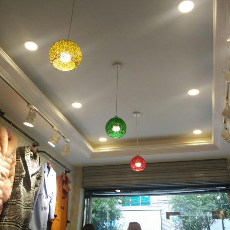 ФОТО Retro Aluminum suspension luminaire hanging Lamp for showcase American Pendant Light 110-240V dining kitchen room cafe bar light