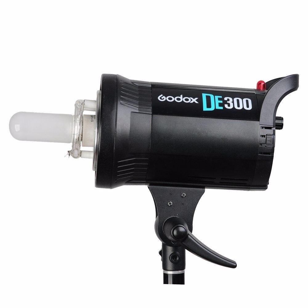 Godox DE300 300W Kompakte Studio Flash Licht Strobe Beleuchtung Lampe Kopf 300Ws 220V GN58 5600K - 2