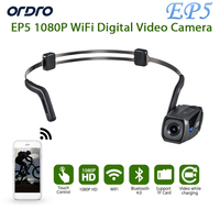 Ship In 1 Day Original ORDRO EP5 Bluetooth 4 0 Hand Free Head Band Action Mini