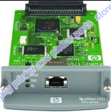J7961G JetDirect 635N Бесплатная доставка 90% новый оригинальный Ethernet Внутренний Сервер Печати Сети Карты и DesignJet Плоттера Принтера