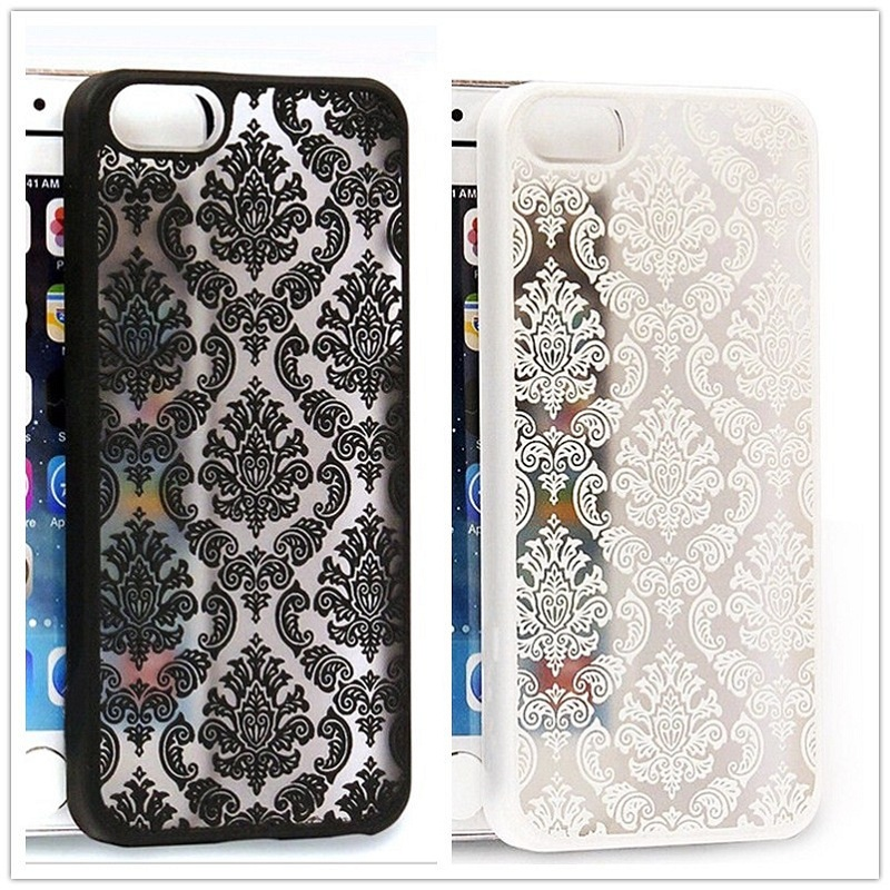 Luxury Vintage Flower Pattern Phone Cases for iPhone 5 5s 5c 5se Protective Hard Back telephone mobile Cover with High Quality
