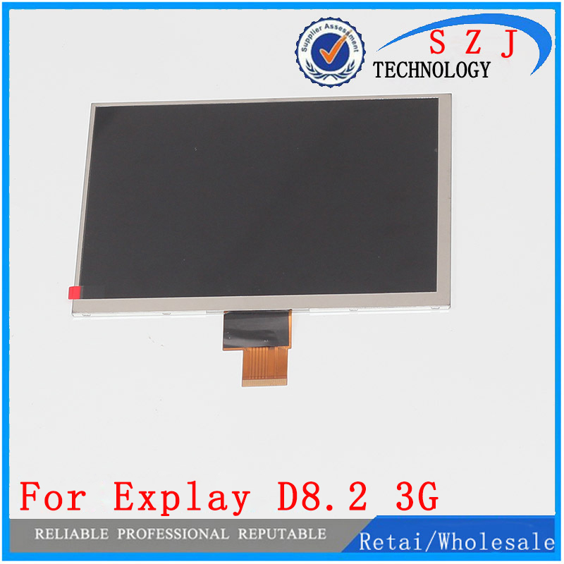 New 8'' inch LCD Display Explay ActiveD 8.2 3G / Explay D8.2 3G TABLET LCD Screen Panel Replacement Module Free Shipping new 8 inch replacement lcd display screen for digma idsd8 3g tablet pc free shipping