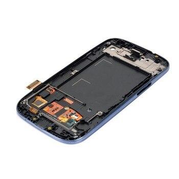I9300 LCD Per SAMSUNG Galaxy S3 i9300i Display Dello Schermo con Cornice di Ricambio Per SAMSUNG Galaxy S3 LCD i9305 i9308i i9300i 1