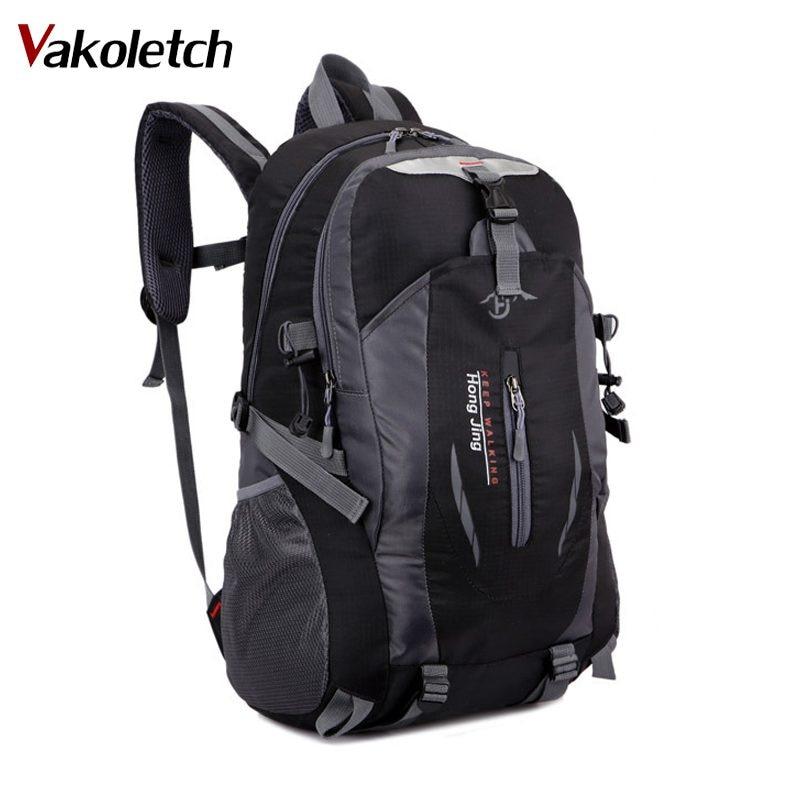 2018 Fashion school bag Waterproof Nylon men Backpack Bag women mochila Travel Bag Rucksack trekking bag Large Capacity KL236